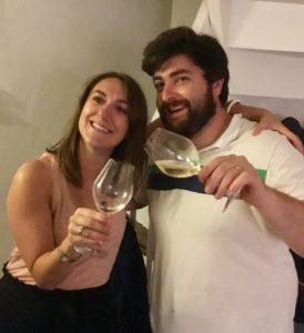 Cheers à l'avenir, un verre de Muscadet à la main, avec Anne-Sophie et Quentin